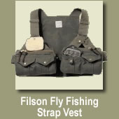 Filson Fly Fishing Vest Sale